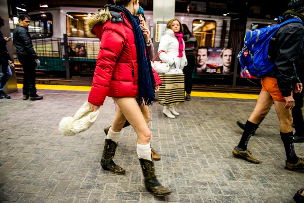 No Pants Subway Ride 2015