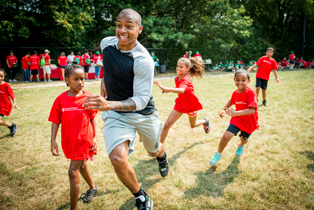 HPHC Day of Service | Isaiah Thomas