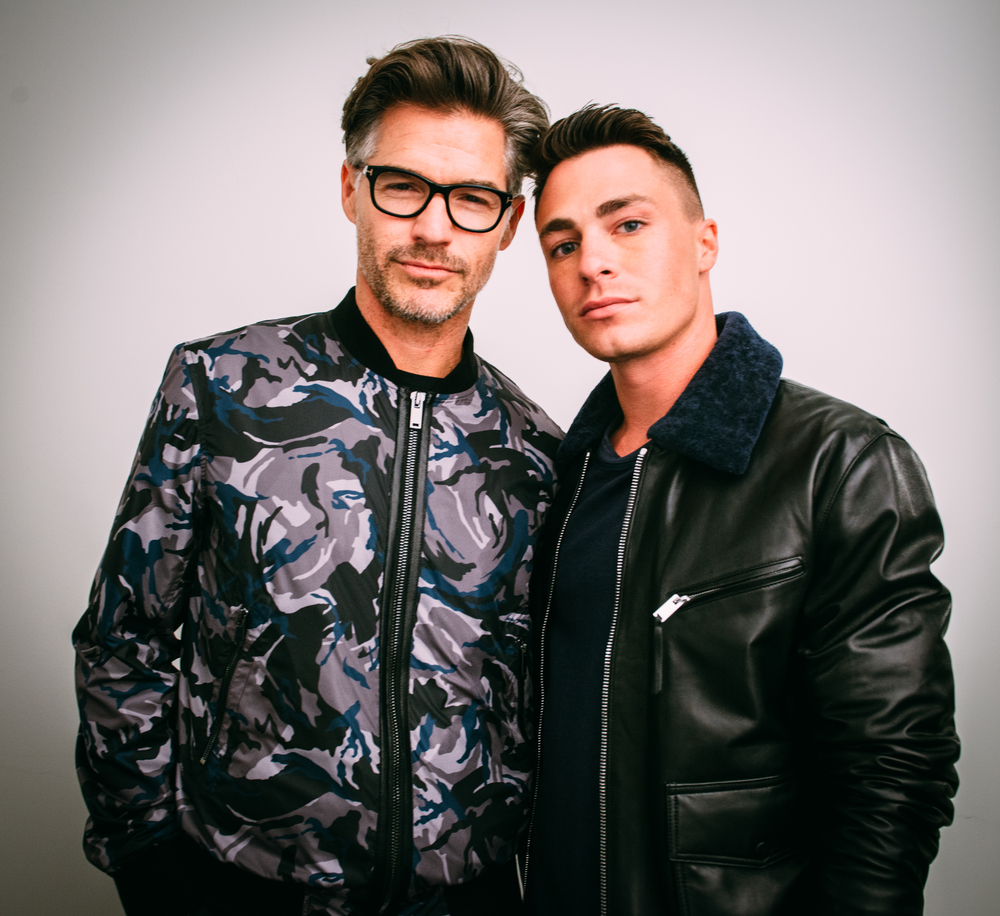 Eric Rutherford and Colton Haynes