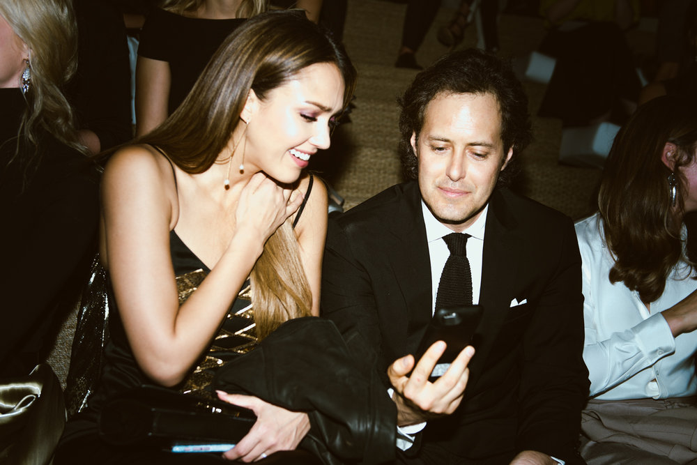 Jessica Alba and David Lauren