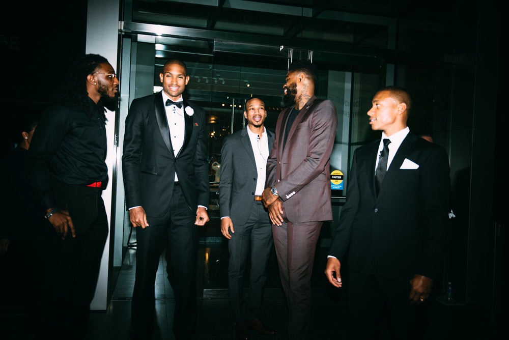 Jae Crowder, Al Horford, avery Bradley, Amir Johnson and Isaiah Thomas