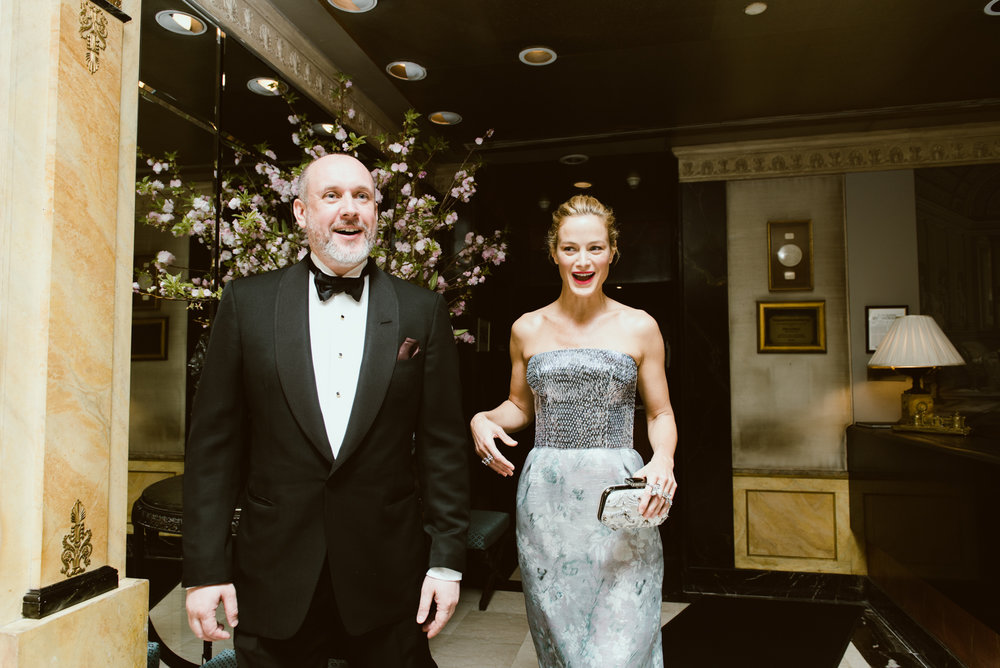 Peter Copping and Carolyn Murphy
