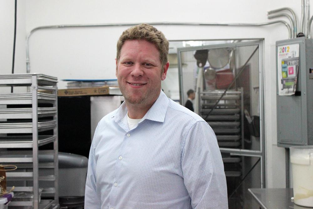 Chef Julian Plyter of  Melt bakery