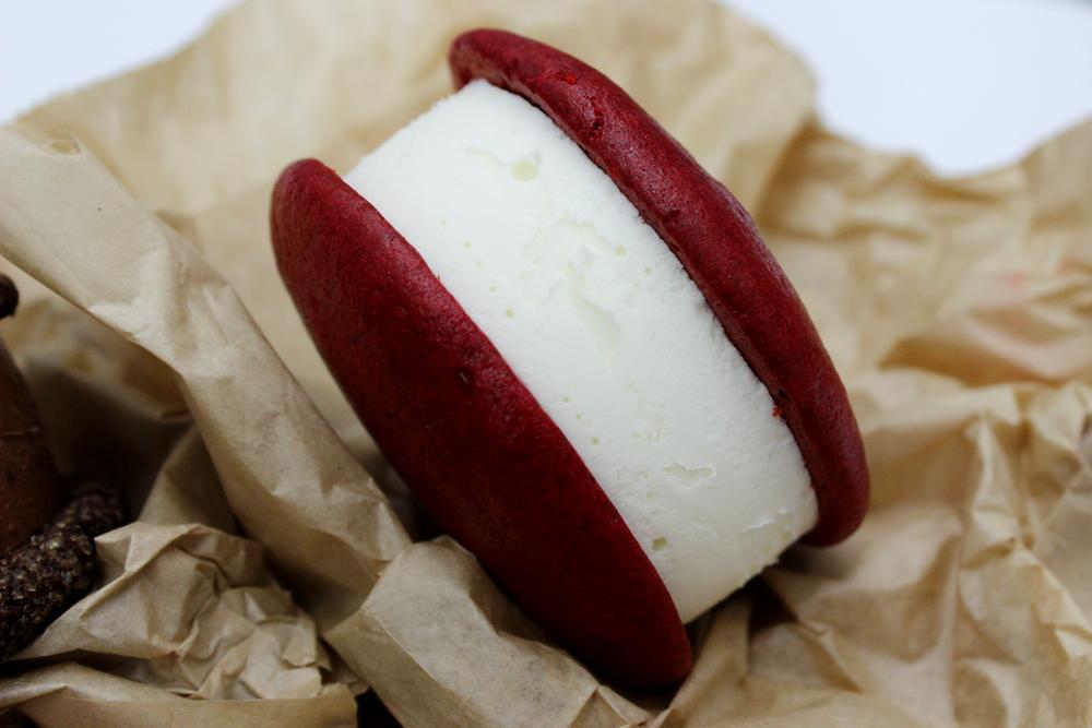Red Velvet Ice Cream Sandwich from Melt Bakery