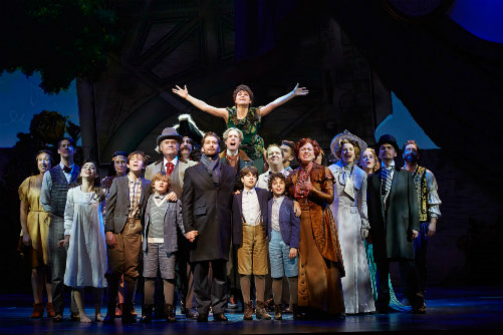 Finding Neverland at the Lunt-Fontanne Theatre