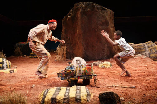 The Painted Rocks at Revolver Creek at the Signature Theatre