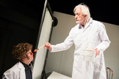 Paul Hunter and Edward Petherbridge star in 'My Perfect Mind'