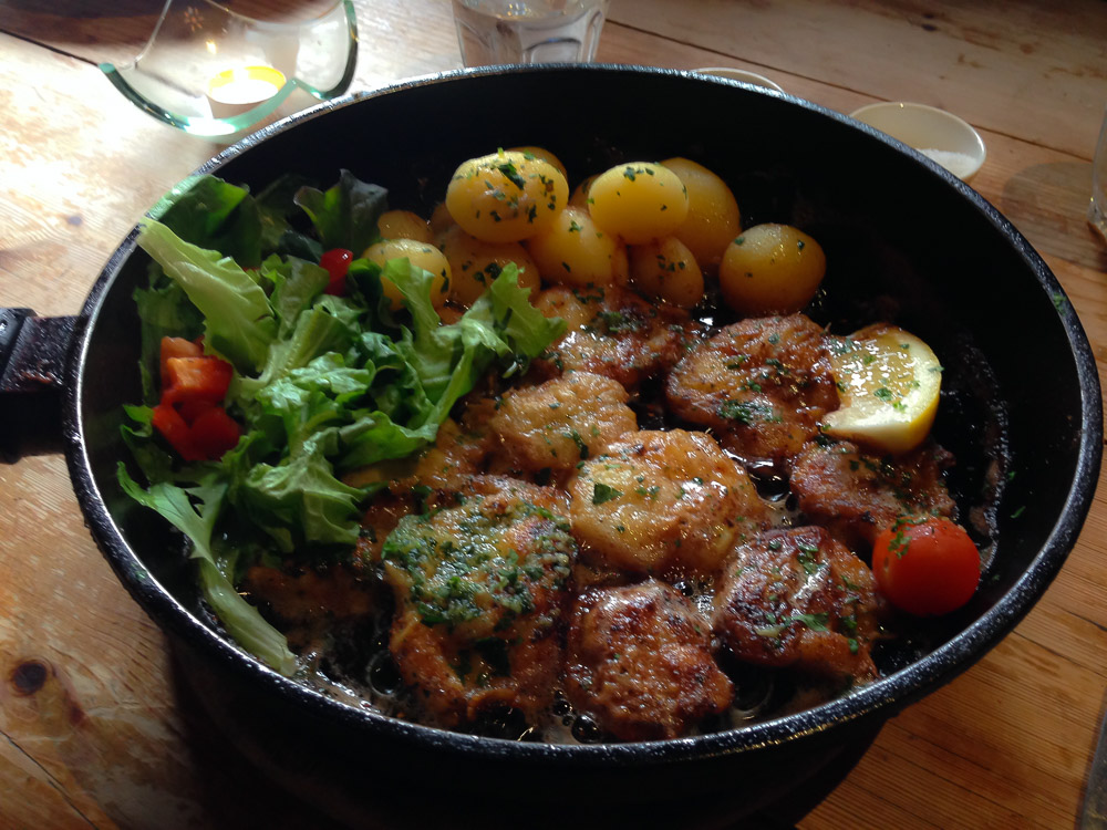 Cod cheeks never looked so good / image from blog 24 Days in Iceland