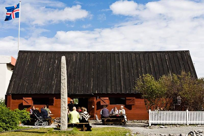 The beloved restaurant Tjoruhusid in the remote fishing village of Isafjordour, Iceland / photo via Facebook.
