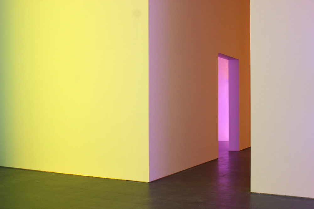 Dan Flavin at the David Zwirner Gallery / Photo by David Behringer courtesy of David Zwirner Gallery