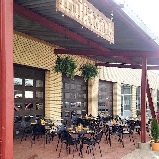 A former auto-repair shop now houses the popular brunch restaurant, Milktooth / photo courtesy of Milktooth's Facebook