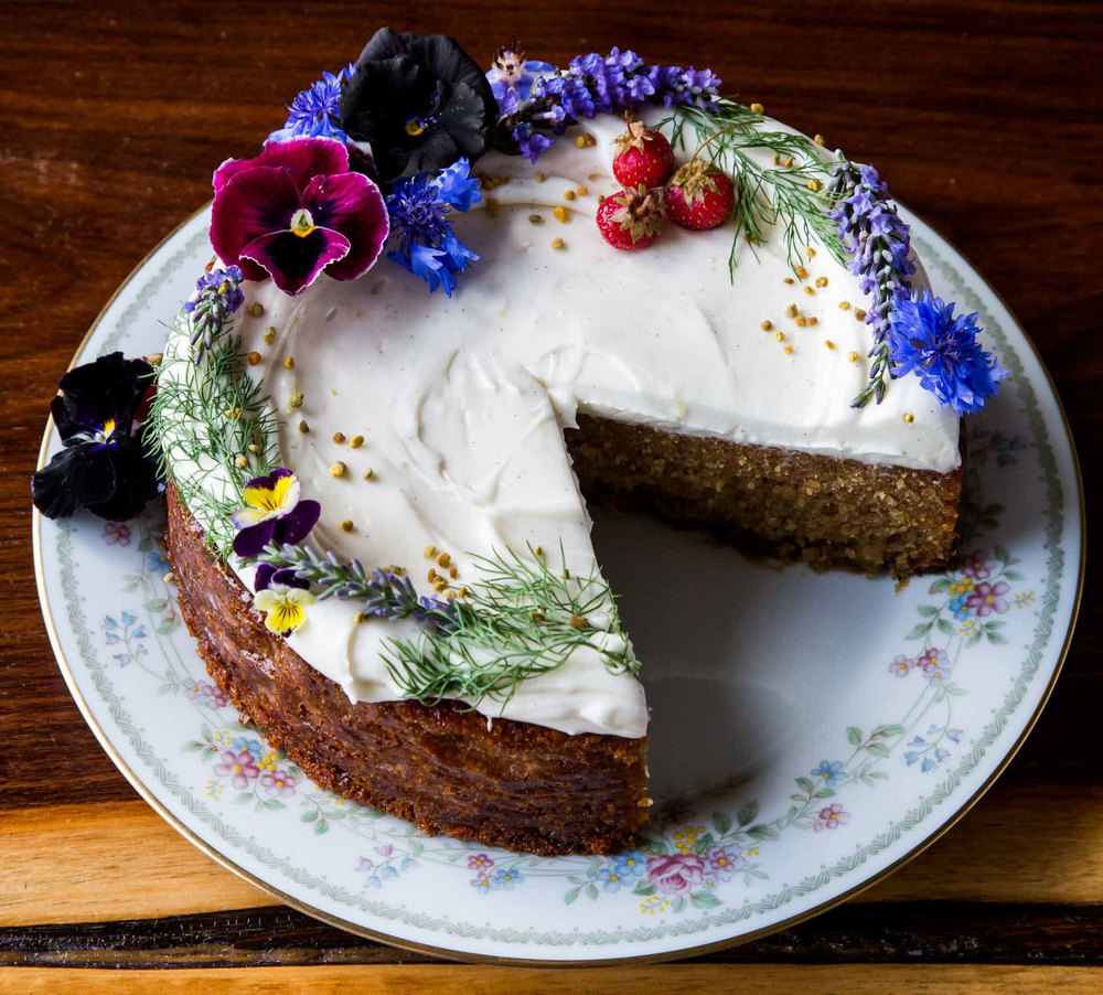 Milktooth's Honey Whey Cake – one of Bon Appetit Magazines Top 10 Desserts of 2015 / Photo by Peter Frank Edwards via bonappetit.com