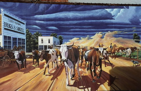 The old west is alive in Toppenish murals / photo courtesy of oregonlive.com