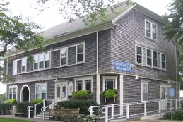 The Little Compton Community Center, built in 1902 / photo courtesy of http://www.crosbyhillbandb.com