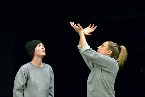 Jessica Johnson and Christina Berriman Dawson in   Key Change  . Photo by Keith Pattinson.