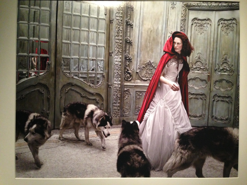 "Eugenio Recueno ""Little Red Riding Hood"" Vogue Novias, 2005."