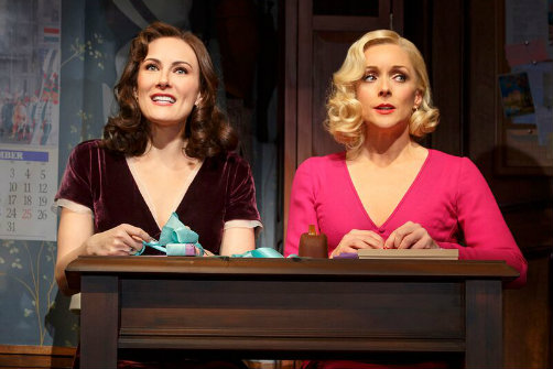 Laura Benanti and Jane Krakowski in Roundabout Theatre's  She Loves Me.  Photo by Joan Marcu