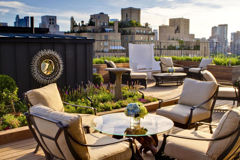 The Surrey Hotel private roof garden