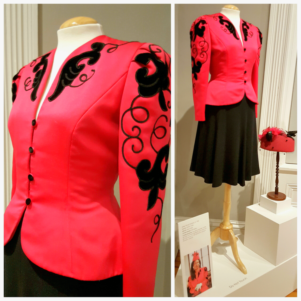 Edith Head inspired suit, worn by Whoopi Goldberg