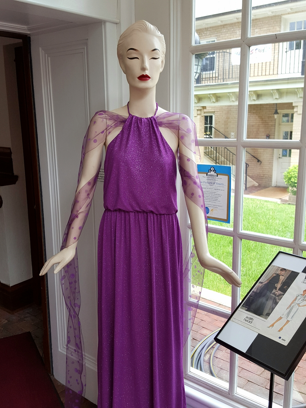 Original dress by Edith Head.