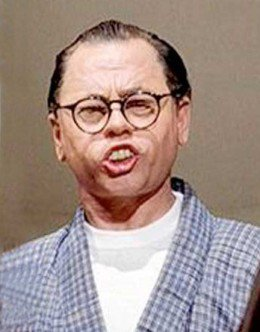 "Mickey Rooney as ""Mr. Yunioshi"""