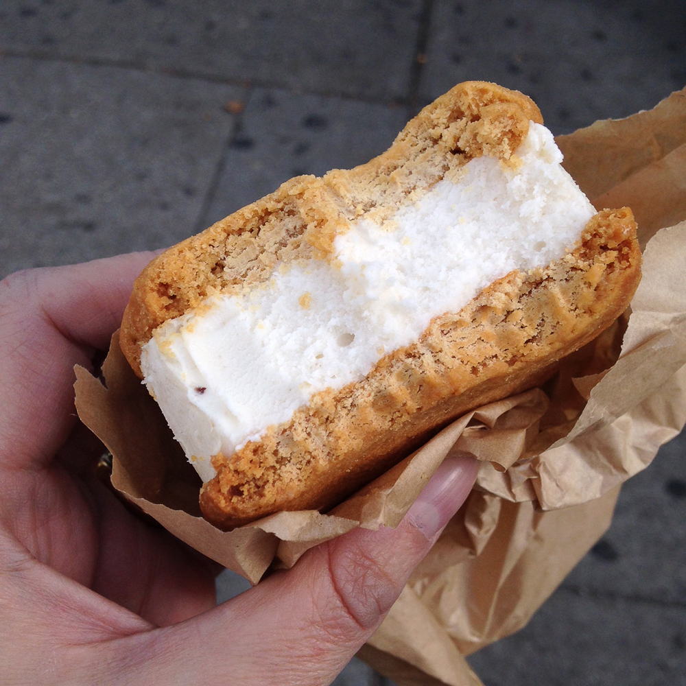 The Elvis ice cream sandwich from Melt Bakery, NYC.  Image courtesy Laurie Ulster.