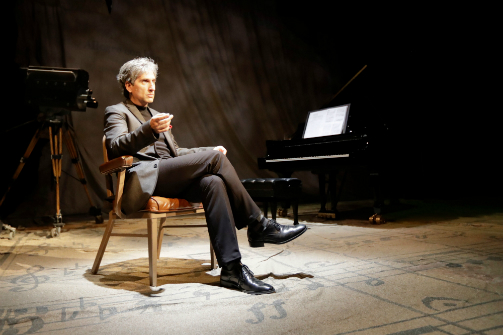 Hershey Felder as Leonard Bernstein in Maestro. Photo courtesy of Hershey Felder Presents.