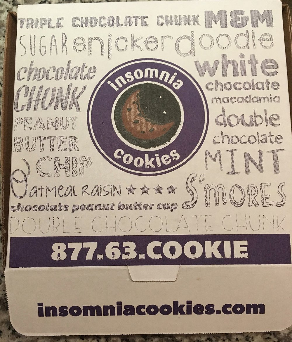 Insomnia Cookies Box.JPG