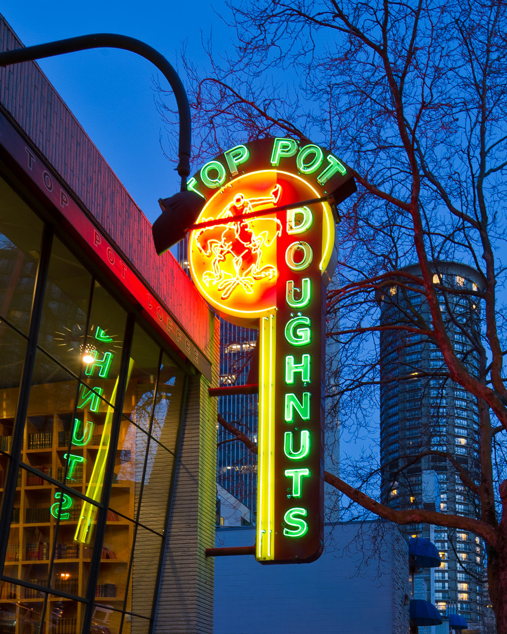 "The legendary neon sign. All that's missing is the ""S"".   Image: Mark Klebeck Photography."