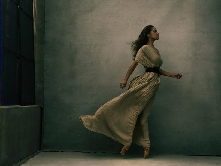 One of the photos: Misty Copeland, New York City, 2015. © Annie Leibovitz from WOMEN: New Portraits