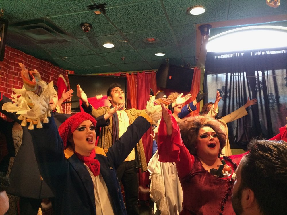 """Les Mis"" courtesy The Broadway Brunch Bunch"