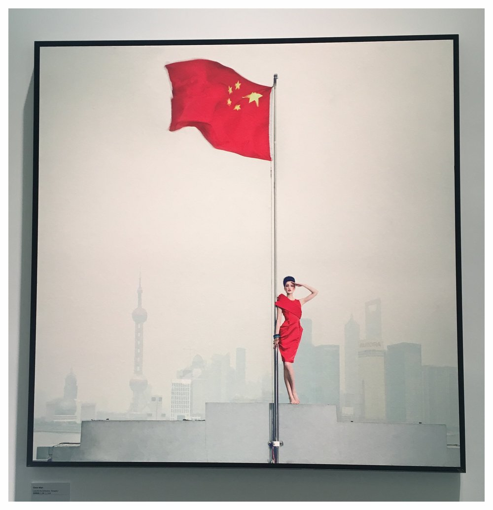 """Long live the Motherland, Shanghai. 1"" by Chen Man"