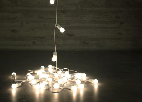 Felix Gonzalez-Torres lights