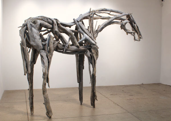 Deborah Butterfield metal horse