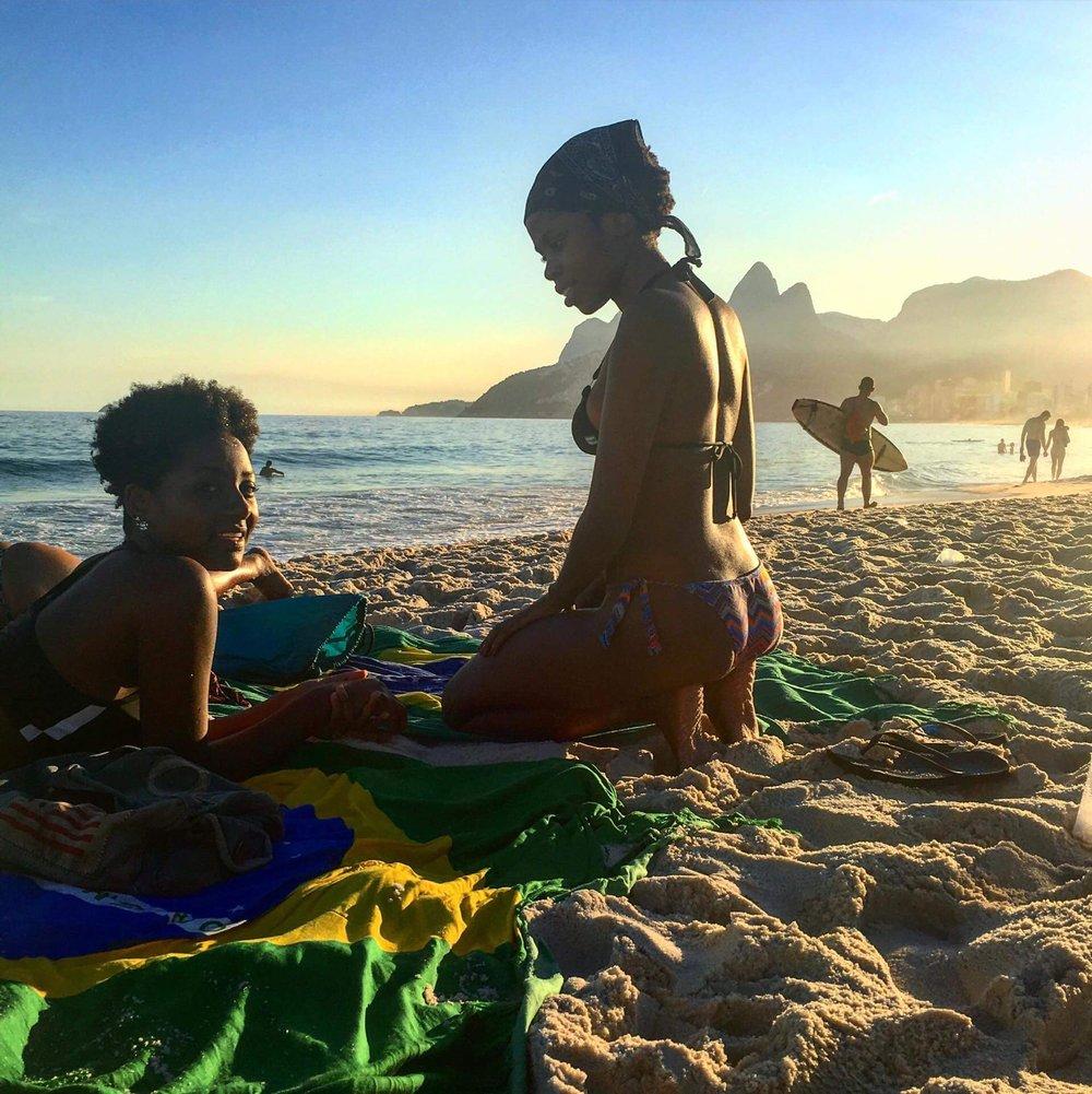 Sunset vibes in Rio de Janeiro