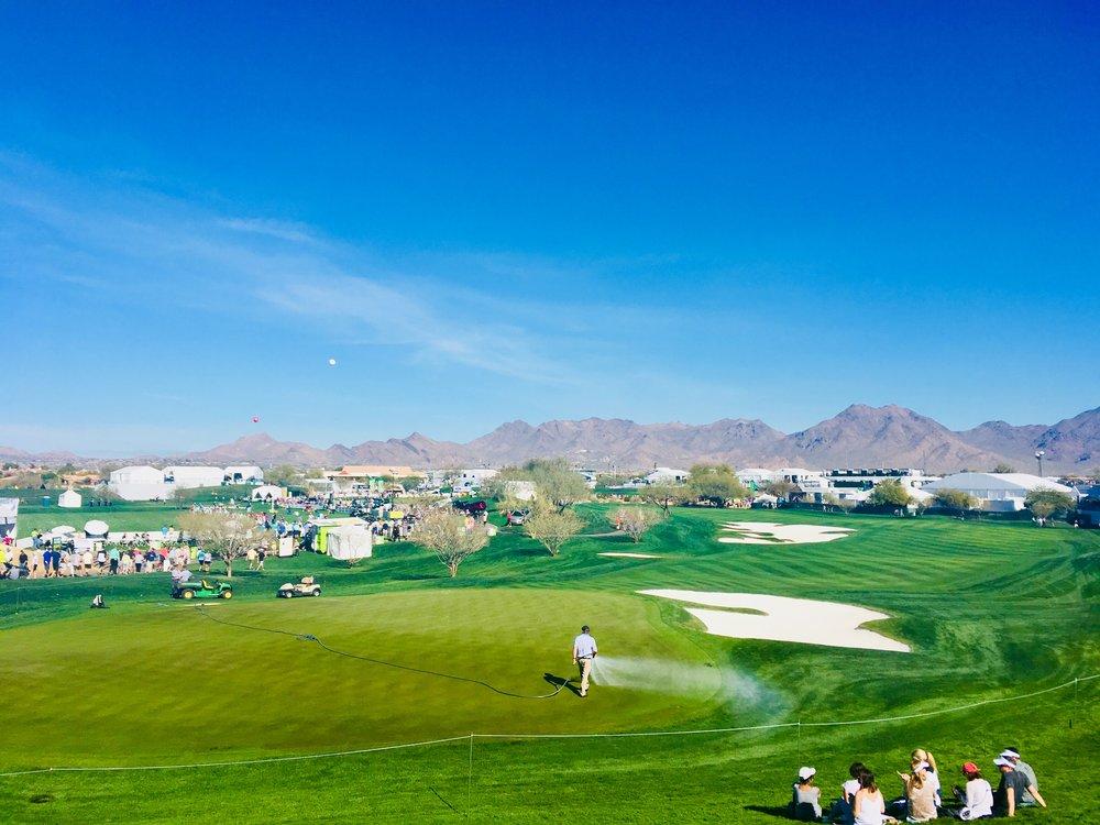 PGA Phoenix Open view
