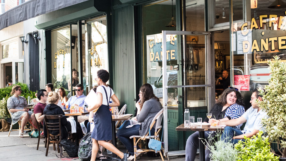 Top places for Al fresco dining in NYC 2018.