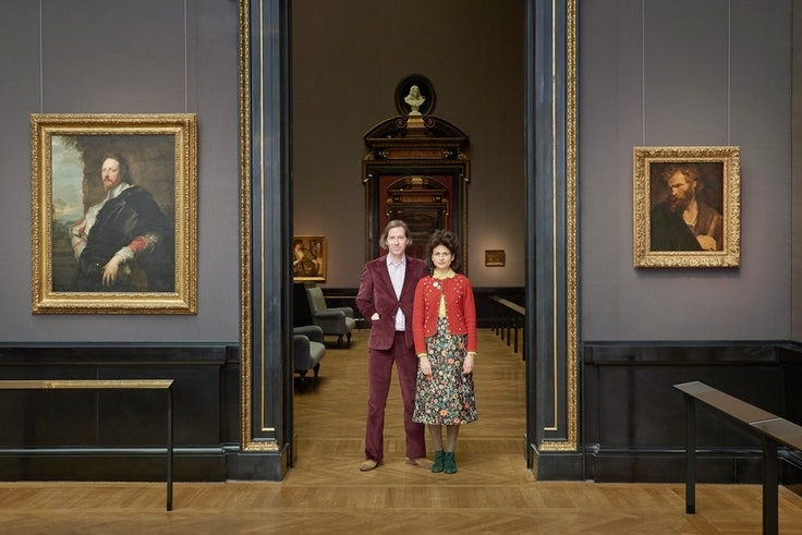 Filmmaker Wes Anderson and artist Juman Malouf, will debut an exhibition at Austria's Kunsthistorisches Museum.