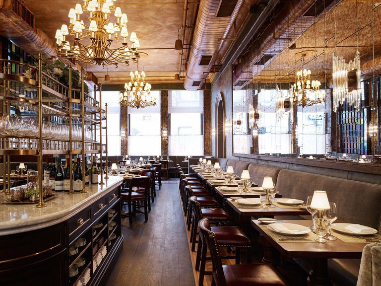 Places to eat & drink during NY Fashion Week. Pictured: Temple Court NYC.