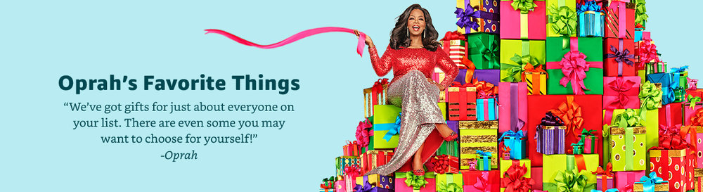 "Oprah reveals her 107 gift ideas on this year's ""Oprah's Favorite Things. Watch her get a foot massage ( video ). Review on what to buy and what  not ."