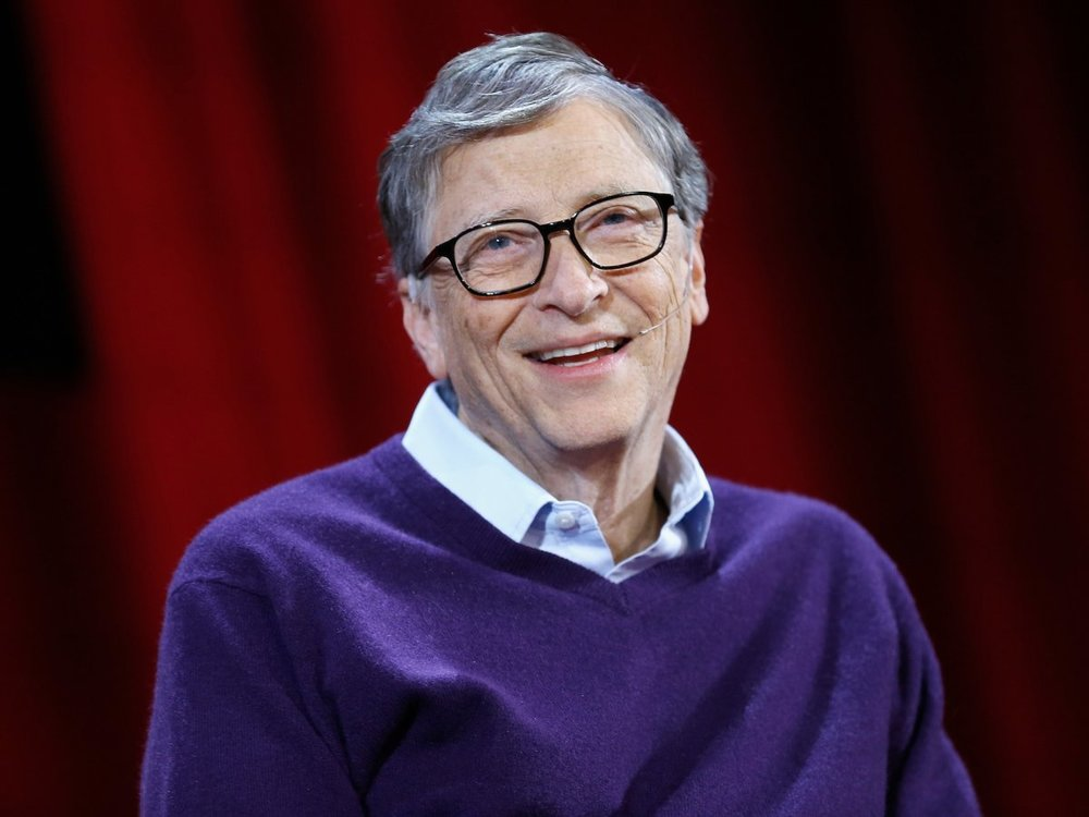 Whre's Bill Gates' fve place to think?