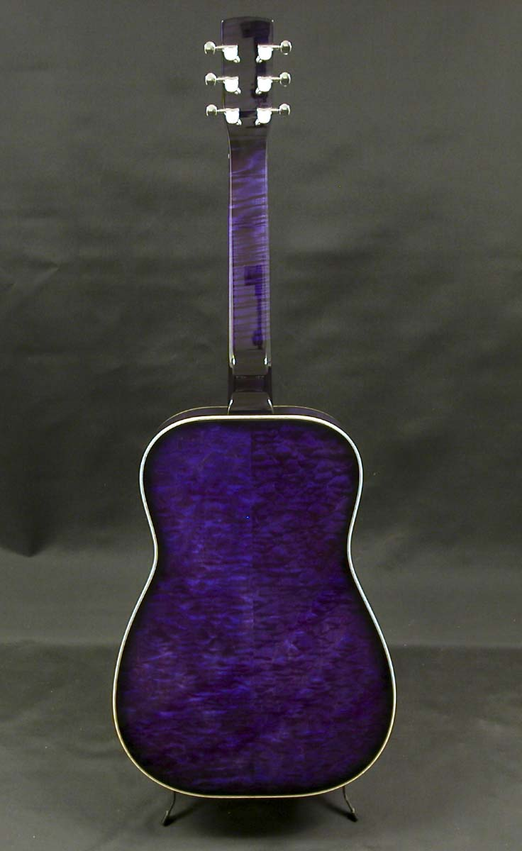 Purple Burst- Quilted Maple