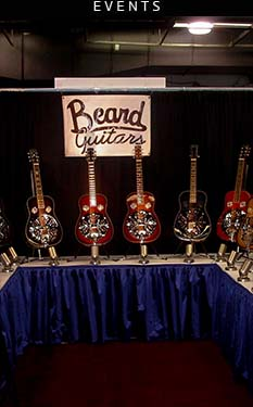 Beard resonator Guitars events