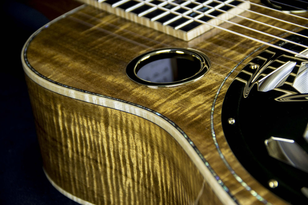 Beard E Model 7 String-Koa