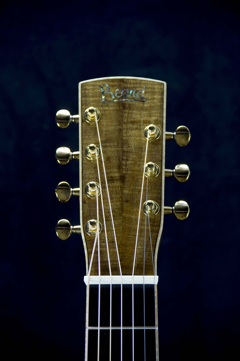 Beard E Model 7 String- Koa