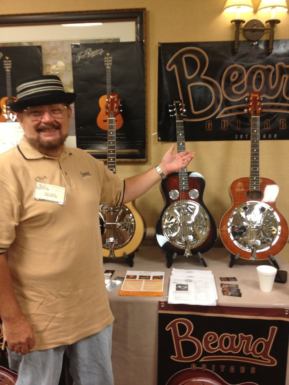 Chet at The Chet Atkins Show 2013