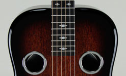 Tobacco Burst Wide-Mahogany