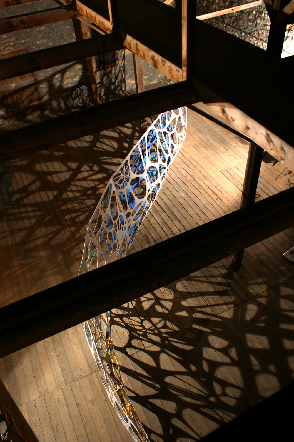 An Image of the piece from above