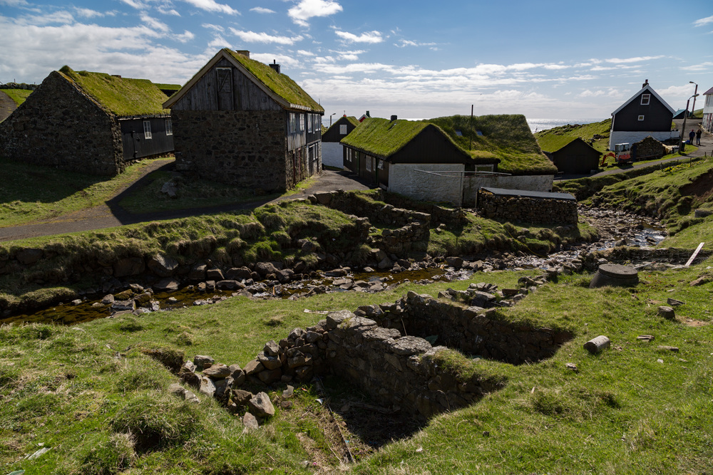 The Village of Mykines on the Island of the same name.