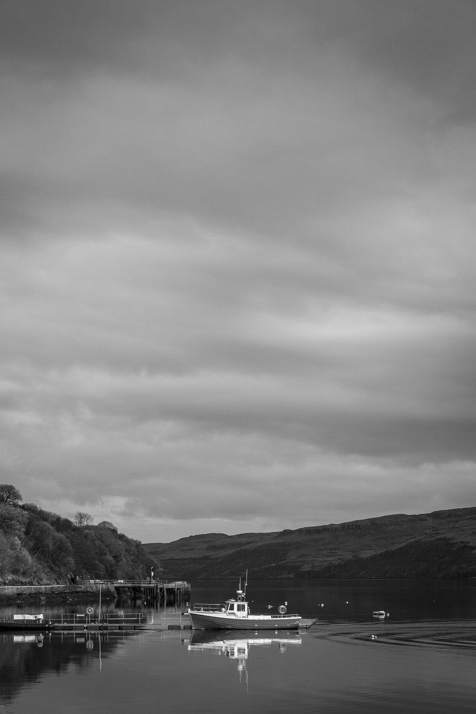 Loch Harport in Carbost, Skye